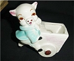 Click here to enlarge image and see more about item 127s: Vintage Pig Planter