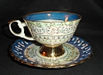 Vintage Japan Luster Cup and Saucer