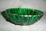 Click here to enlarge image and see more about item 1285s: Anchor Hocking Burple Green Bowl