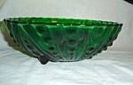 Click to view larger image of Anchor Hocking Burple Large Green Bowl (Image1)