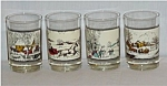 Click to view larger image of  Currier & Ives Glasses (Image1)