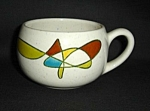 Click here to enlarge image and see more about item 1297s: Metlox Freeform Cup