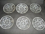 Click here to enlarge image and see more about item 1327s: Early American Prescut Coaster Set of 6