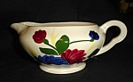 Click here to enlarge image and see more about item 1337s: Blue Ridge Chrysanthemum Gravy Boat