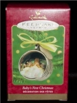 Baby's First Christmas 2000 Hallmark Ornament