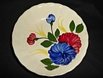 Click here to enlarge image and see more about item 1341s: Blue Ridge Chrysanthemum Small Bowl