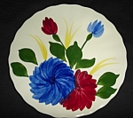 Click here to enlarge image and see more about item 1345s: Blue Ridge Chrysanthemum Bread & Butter Plate
