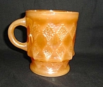 Click here to enlarge image and see more about item 1374s: Fire King Kimberly Mug