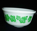Click here to enlarge image and see more about item 1395: Hazel Atlas Ivy Pattern Bowl