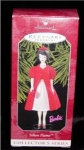 Silken Flame Barbie Hallmark Ornament