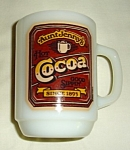 Anchor Hocking Aunt Jenny's Cocoa Mug