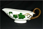 Click here to enlarge image and see more about item 141s: Metlox California Ivy Gravy Boat