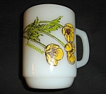 Click here to enlarge image and see more about item 1444s: Anchor Hocking Anemone Flower Mug