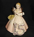 Click here to enlarge image and see more about item 1456s: Josef Originals Birthday Angel #15