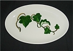 Click here to enlarge image and see more about item 146s: Metlox California Ivy Gravy Boat Under Plate