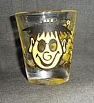 Click to view larger image of  Roving Eye Clown Shot Glass (Image1)