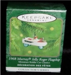 Click here to enlarge image and see more about item 147h: 1968 Murray Flagship Mini Hallmark Ornament
