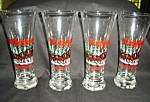 Click here to enlarge image and see more about item 1487s: Budweiser  Beer Glasses