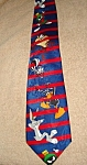 Click here to enlarge image and see more about item 1497s: Looney Tunes Buggs Neck Tie