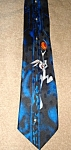 Click here to enlarge image and see more about item 1499s: Looney Tunes Basketball Neck Tie