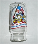 Click here to enlarge image and see more about item 149s: Coca Cola Disney America on Parade Glass