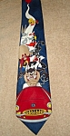 Click here to enlarge image and see more about item 1500s: Looney Tunes Taz Neck Tie