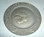 Click here to enlarge image and see more about item 1512s: Hallmark  Little Gallery Pewter Plate