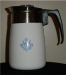 Corning Ware Cornflower Blue Coffee pot 6 cup