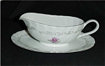 Click here to enlarge image and see more about item 158s: Royal Swirl Fine China Gravy Boat