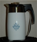 Corning Ware Cornflower Blue Coffee Pot