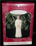 Click here to enlarge image and see more about item 15h: Star Wars Princess Leia Hallmark Ornament