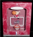 Click here to enlarge image and see more about item 165h: Rockets NBA Hallmark Ornament