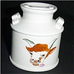 Click here to enlarge image and see more about item 165s: Enesco Cow Sugar Bowl