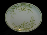 Click here to enlarge image and see more about item 178: Franciscan Greenhouse Oval Platter