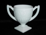 Click here to enlarge image and see more about item 182: Indiana Glass Milk Glass Sugar Bowl