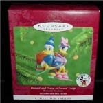 Donald & Daisy Lovers Hallmark Ornament