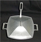 Click here to enlarge image and see more about item 188s: York Metalcrafters Metal Pot with Ladle