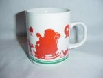 Click here to enlarge image and see more about item 191: Avon Christmas Coffee Mug