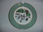Click here to enlarge image and see more about item 193: Avon 1975 Christmas Plate