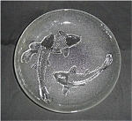 Click here to enlarge image and see more about item 197s: Indonesian Bowl with Fish Pattern