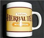 Click to view larger image of Lipton Herbal Tea Coffee Mug (Image1)