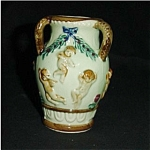 Click here to enlarge image and see more about item 233s: Japan Nude Cherub Vase