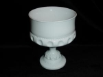 Click here to enlarge image and see more about item 234: Milk Glass Compote