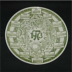 Click here to enlarge image and see more about item 235s: 1973 Calendar Plate