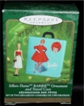 Silken Flame Barbie Hallmark Mini Ornament