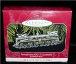 Click here to enlarge image and see more about item 23h: Pennsylvania GG1 Locomotive Hallmark Ornament