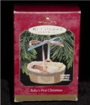 Baby's First Christmas 1997 Hallmark Ornament