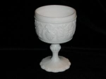Click here to enlarge image and see more about item 247: Milk Glass Compote