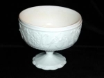 Click here to enlarge image and see more about item 248: Milk Glass Compote