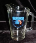 Click here to enlarge image and see more about item 249: Busch Beer Pitcher